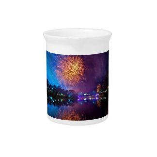 Fireworks Drink Pitcher