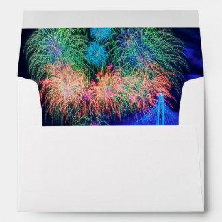 Fireworks Envelopes