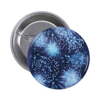 Fireworks exploding buttons & badges
