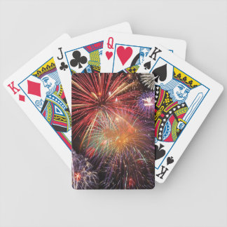 Fireworks Finale Bicycle Playing Cards