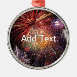 Fireworks Finale Christmas Ornaments