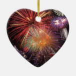 Fireworks Finale Christmas Tree Ornaments