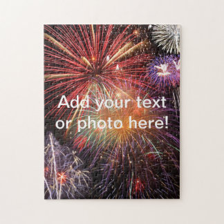 Fireworks Finale Jigsaw Puzzle