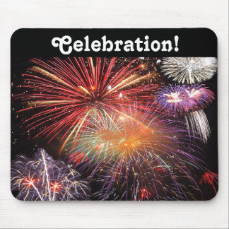 Fireworks Finale Mouse Pad