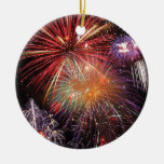 Fireworks Finale Ornaments