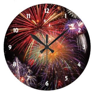 Fireworks Finale Wallclocks