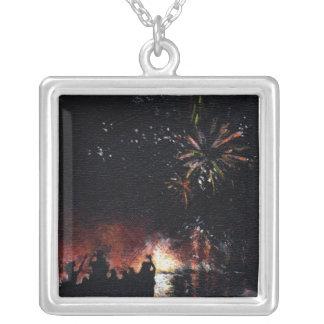 Fireworks Fine Art Necklace