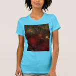 Fireworks Fire Sky Night Peace Love Party Art T Shirt