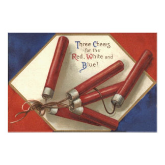 Fireworks Firecrackers 4th of July Photo Print