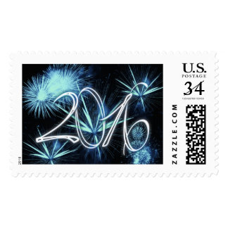 Fireworks for new year's Eve - Postage