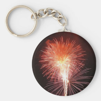 Fireworks for the new year - keychain