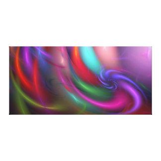 Fireworks Fractal Gallery-ready Canvas Canvas Print