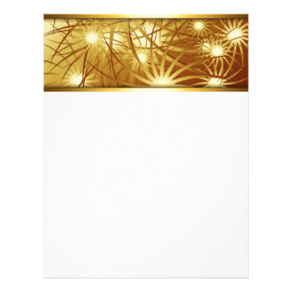 Fireworks Gold Customized Letterhead