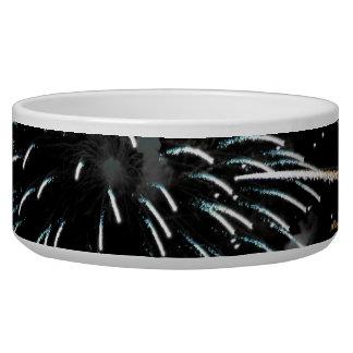 Fireworks Grande Finale Dog Water Bowl