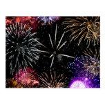 Fireworks Grande Finale Postcard