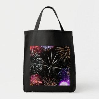 Fireworks Grande Finale Tote Bag