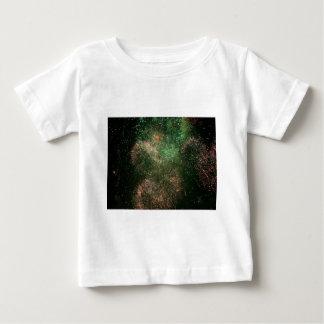 fireworks green explosion splash baby T-Shirt