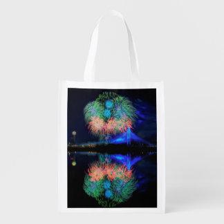 Fireworks Grocery Bag