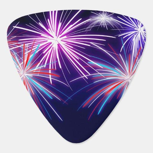 Firework guitar