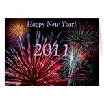 Fireworks, Happy New Year!, 2013 Card
