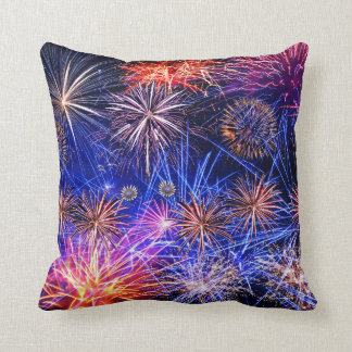 Fireworks image for Throw Cushion