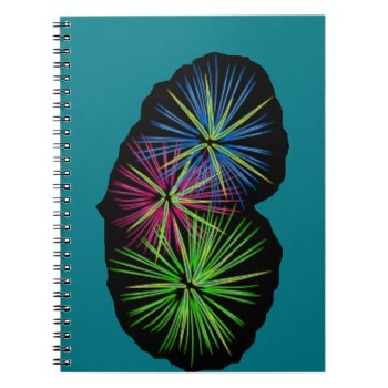 Fireworks Image On Items Notebook by CREATIVEBRANDING at Zazzle