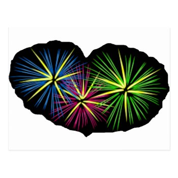 Fireworks Image On Items Postcard by CREATIVEBRANDING at Zazzle