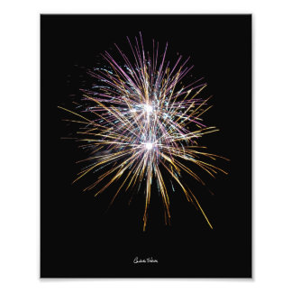 Fireworks in California Photo Print