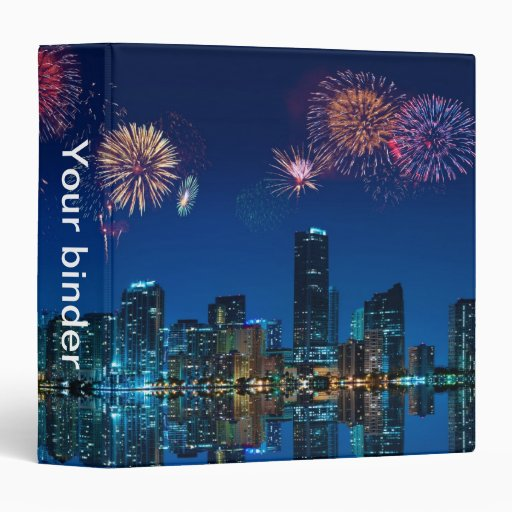 "Fireworks in Miami - 1.5"" Binder"