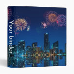 "Fireworks in Miami - 1"" Binder"