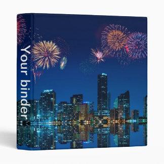 "Fireworks in Miami - 1"" Binder"