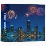 "Fireworks in Miami - 2"" Binder"