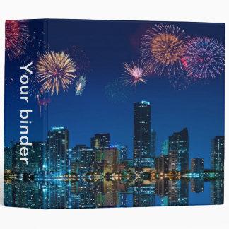 "Fireworks in Miami - 2"" Binder"