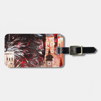 Fireworks In Munich Luggage Tags