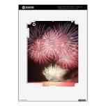 fireworks iPad 3 skin