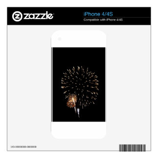 Fireworks iPhone 4 Decal