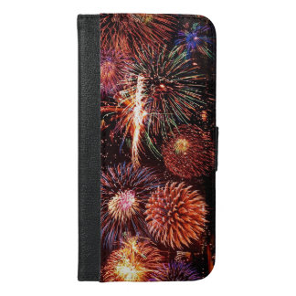 Fireworks iPhone 6/6s Plus Wallet Case