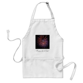 Fireworks July 4th Apron