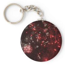 Fireworks Key Chain