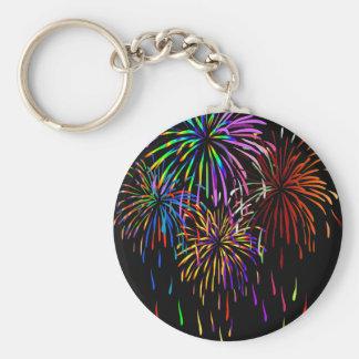 Fireworks Keychain