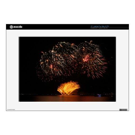 fireworks laptop decal