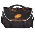 fireworks laptop messenger bag
