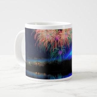Fireworks Large Coffee Mug