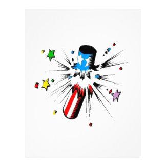 Fireworks Letterhead Design