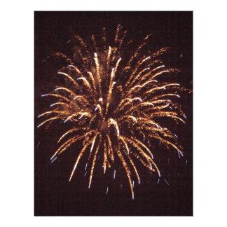 Fireworks Custom Letterhead