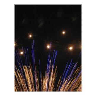 Fireworks Personalized Letterhead