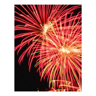 Fireworks Letterhead Template