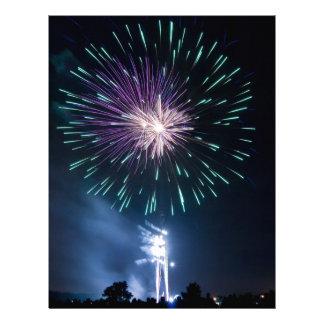 Fireworks Customized Letterhead