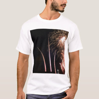 Fireworks light up the Air Force Memorial T-Shirt