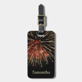Fireworks Tags For Luggage
